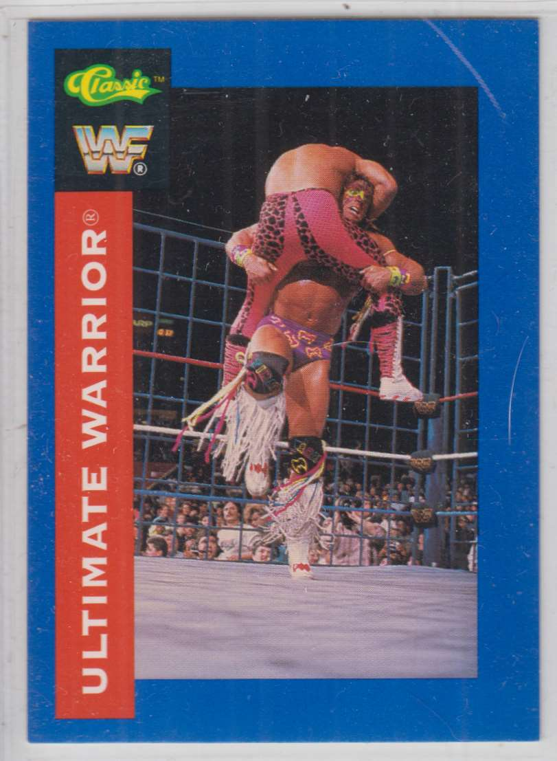 1991 Classic WWF Superstars Ultimate Warrior #2 card front image