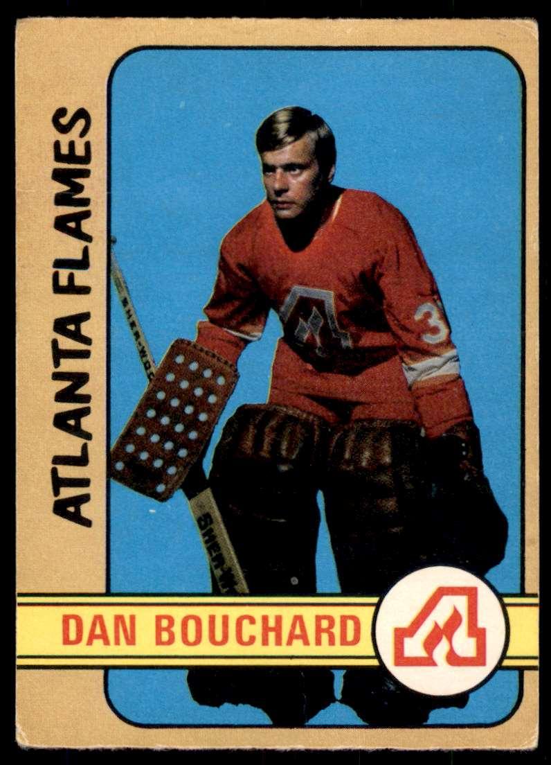1972-73 OPC Dan Bouchard #203 card front image
