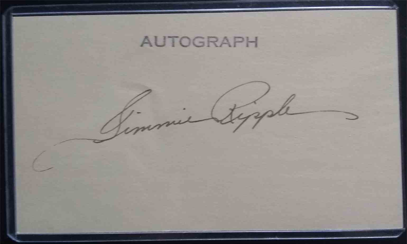 1936 3X5 Jimmie Ripple card back image