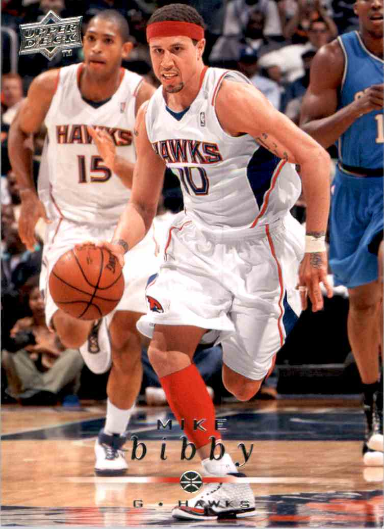 2008-09 Upper Deck Mike Bibby #1 card front image