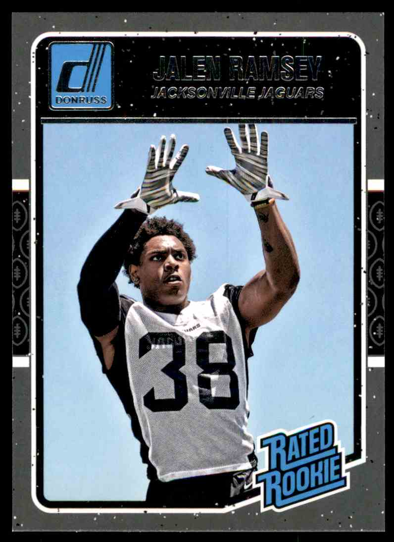 new products cd010 aaa95 2016 Donruss Jalen Ramsey Rr RC #371 on Kronozio