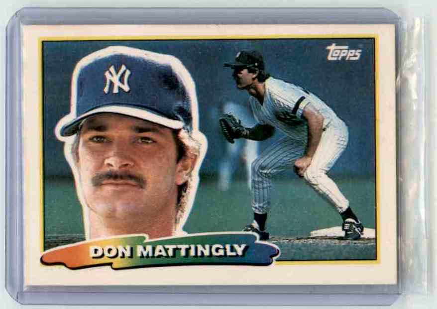 1988 Topps Don Mattingly #229 card front image