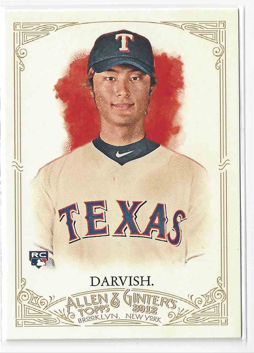 2012 Topps Allen & Ginter Yu Darvish #4 card front image