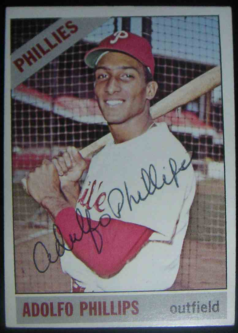 1966 Topps Adolfo Phillips #32 card front image