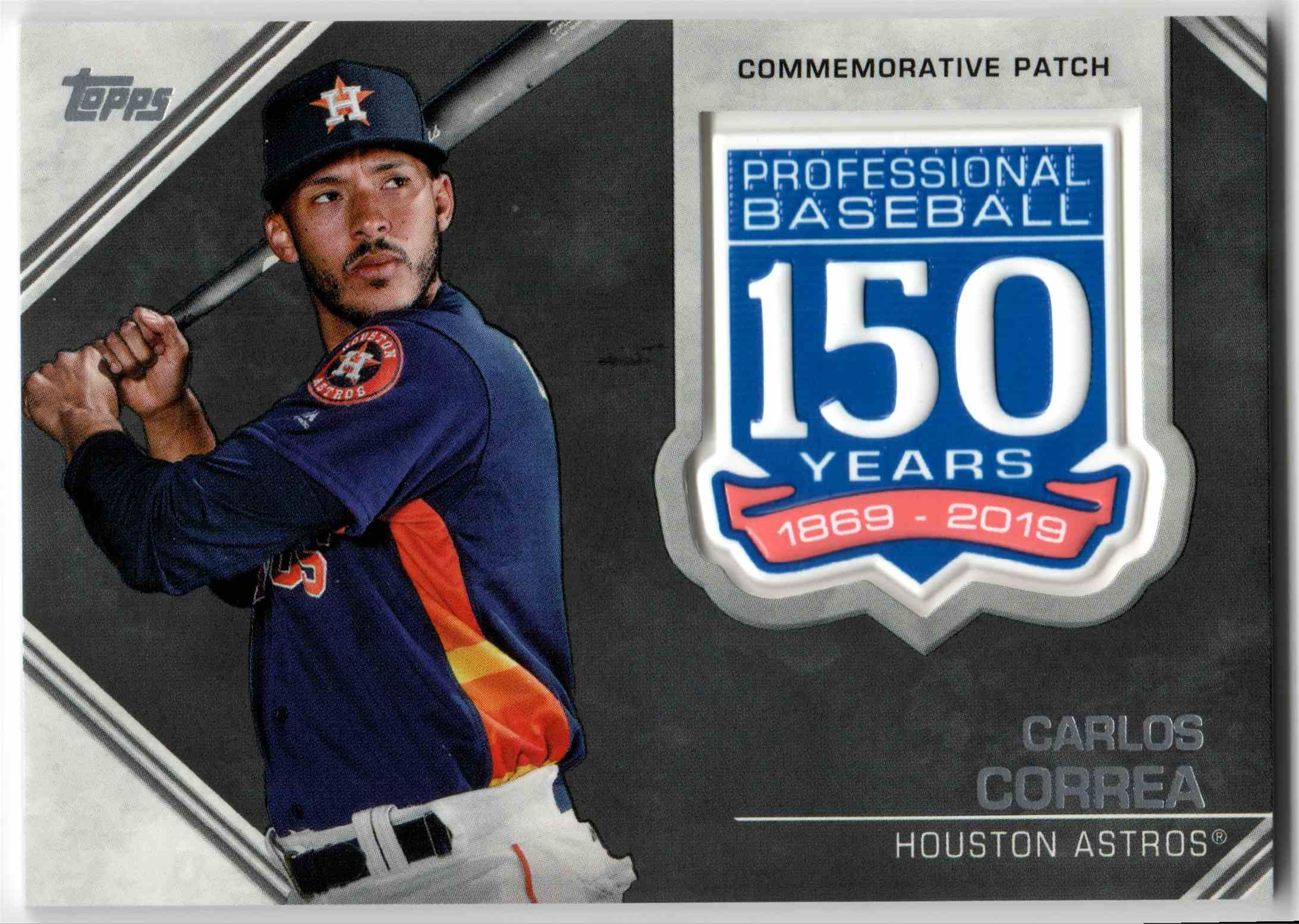2019 Topps Carlos Correa #AMP-CC card front image
