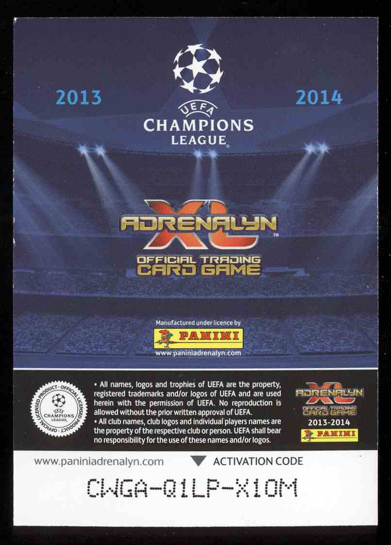 2013 Panini Uefa Champions League Adrenalyn XL Ssc Napoli