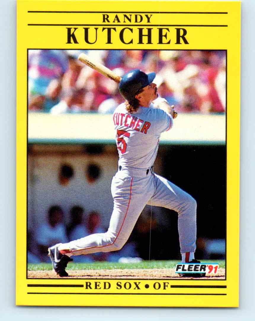 1991 Fleer Baseball Randy Kutcher #100 on Kronozio