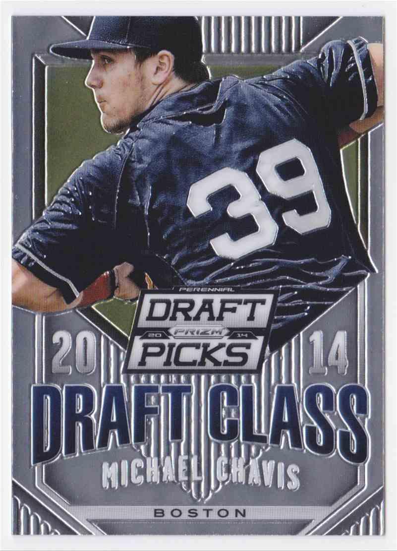 2014 Panini Prizm Draft Picks Draft Class Michael Chavis #24 card front image