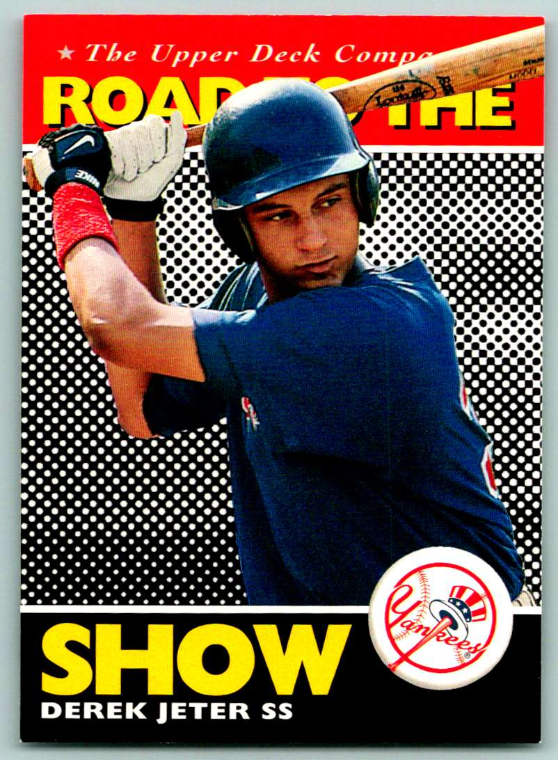 1994 Upper Deck Road To The Show Derek Jeter #165 card front image
