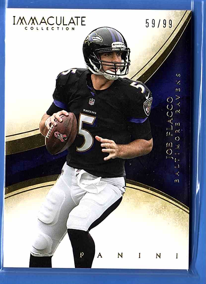 2014 Immaculate Collection Joe Flacco #16 card front image