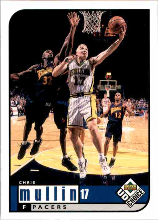 1998-99 UD Choice Chris Mullin #60 card front image