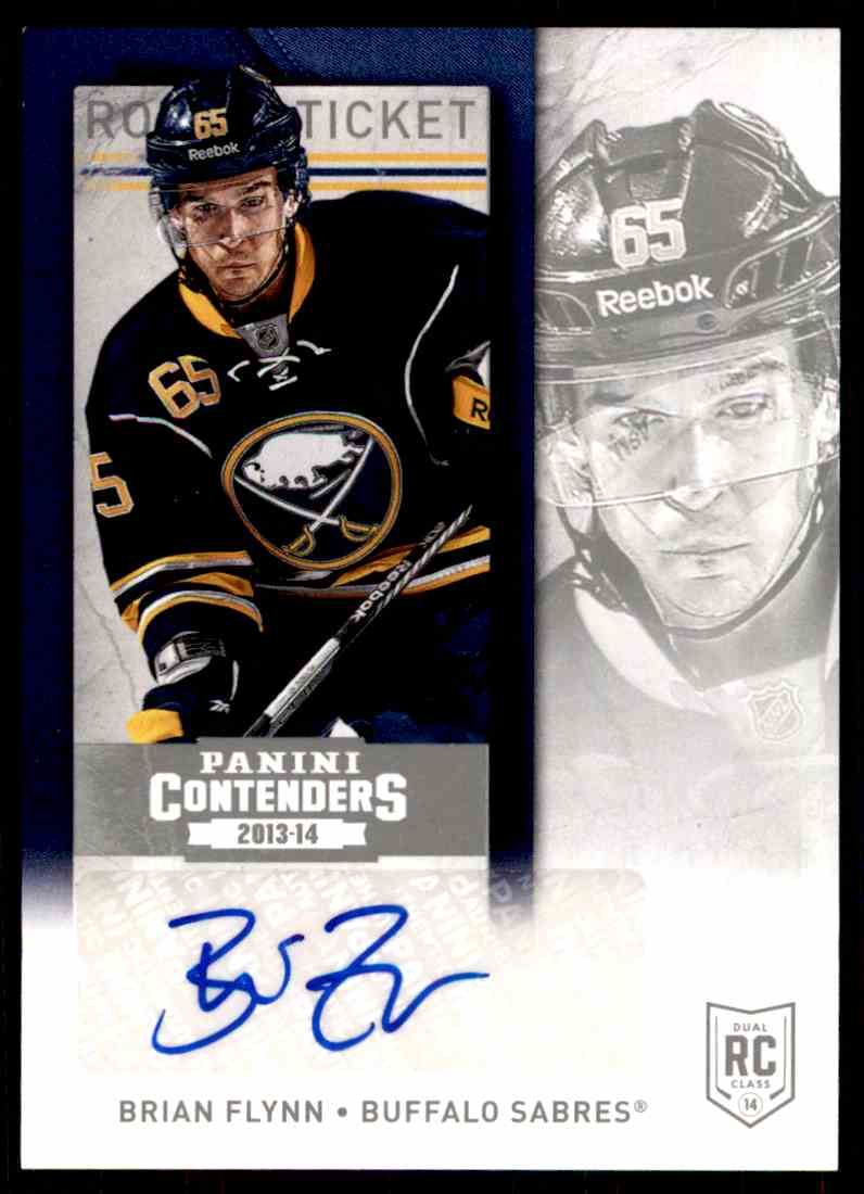 2013-14 Panini Contenders Bryian Flynn #276 card front image