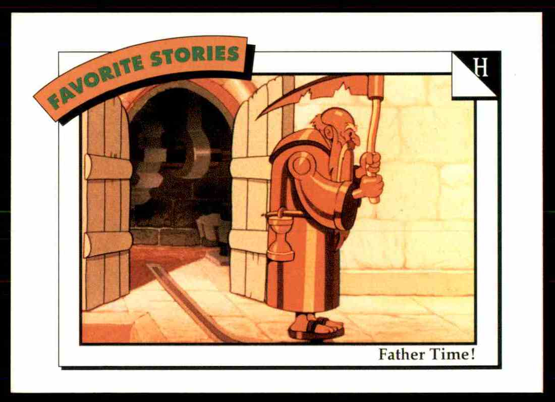 1991 Disney Series One Father Time #20 card front image