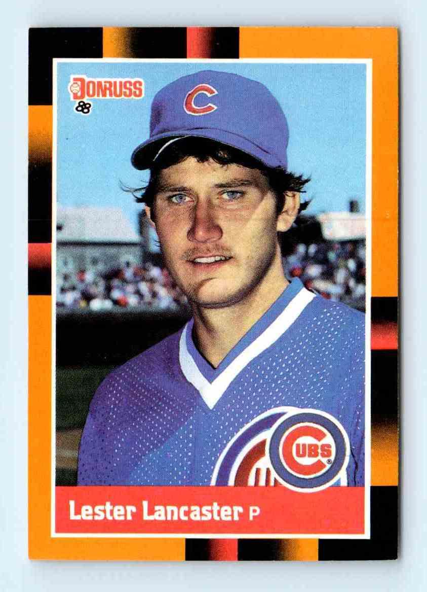 1988 Donruss Baseball39s Best Les Lancaster 172 On Kronozio