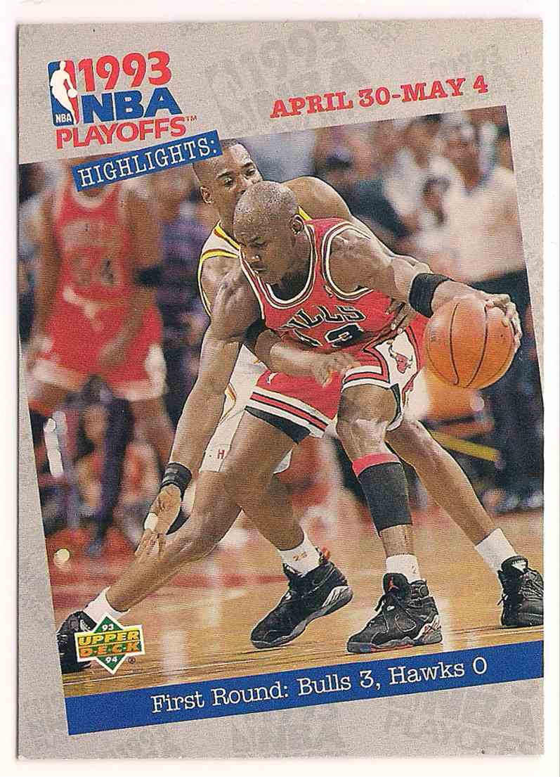1993-94 Upper Deck Michael Jordan #180 card front image