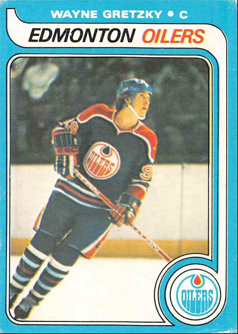 1979-80 O-Pee-Chee Wayne Gretzky #18 card front image