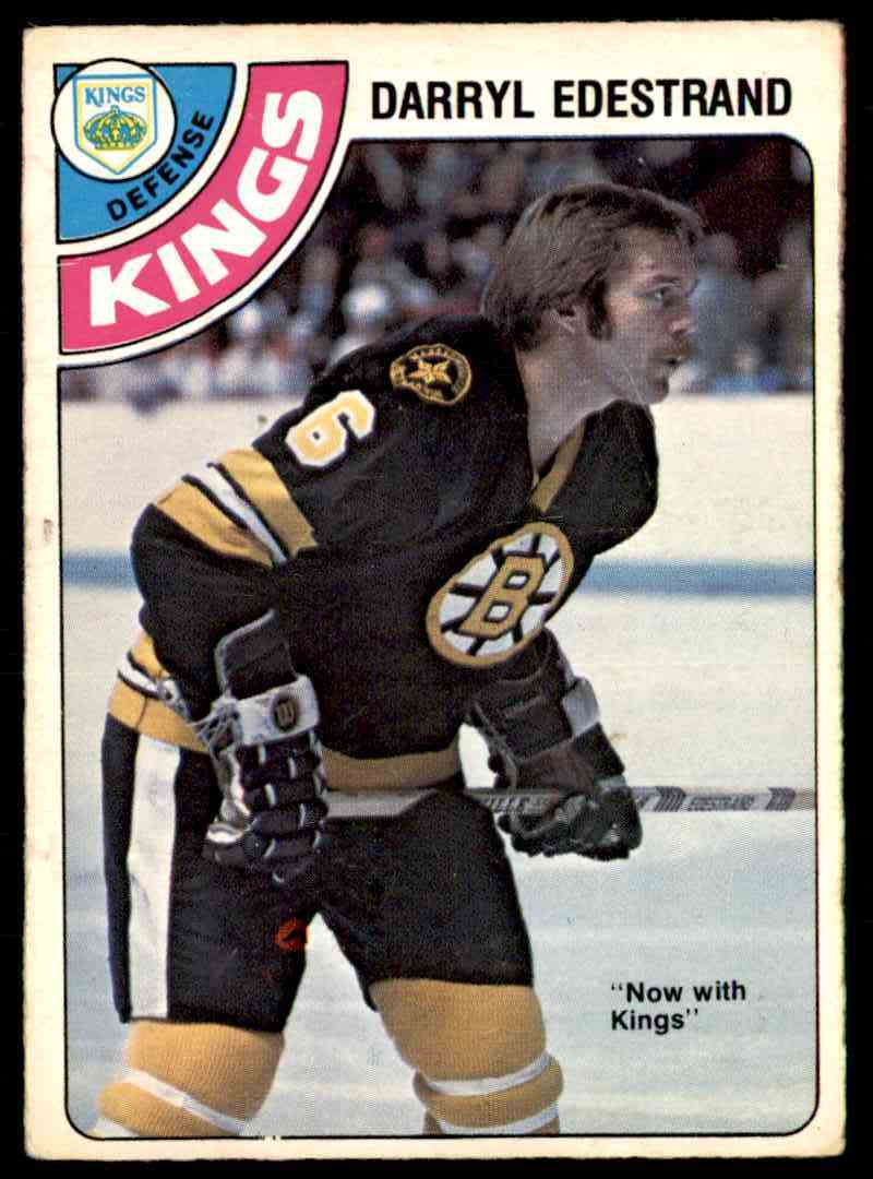 1978-79 O-Pee-Chee Darryl Edestrand #377 card front image