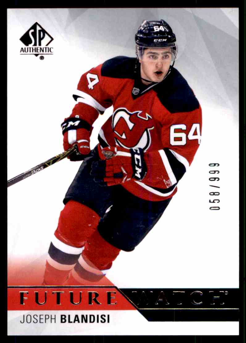 half off 020ac 3208a 1 Joseph Blandisi - New Jersey Devils trading cards for sale