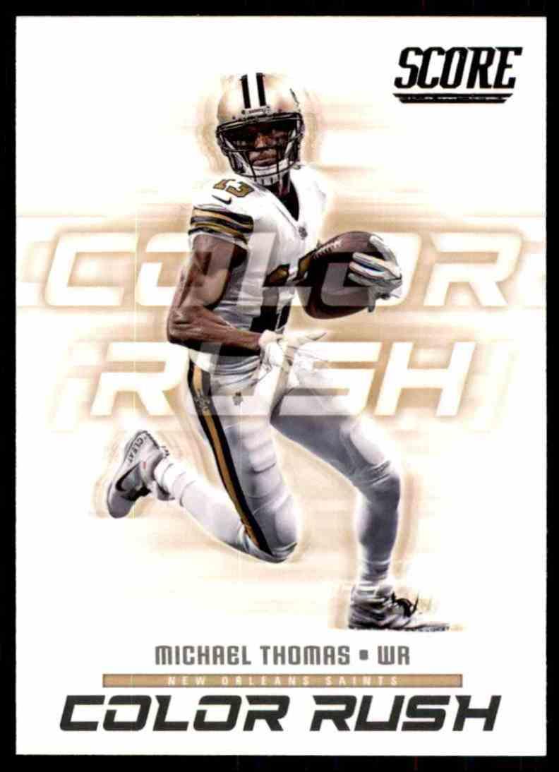 new styles 6af75 6eafd 2018 Score Color Rush Michael Thomas #14 on Kronozio