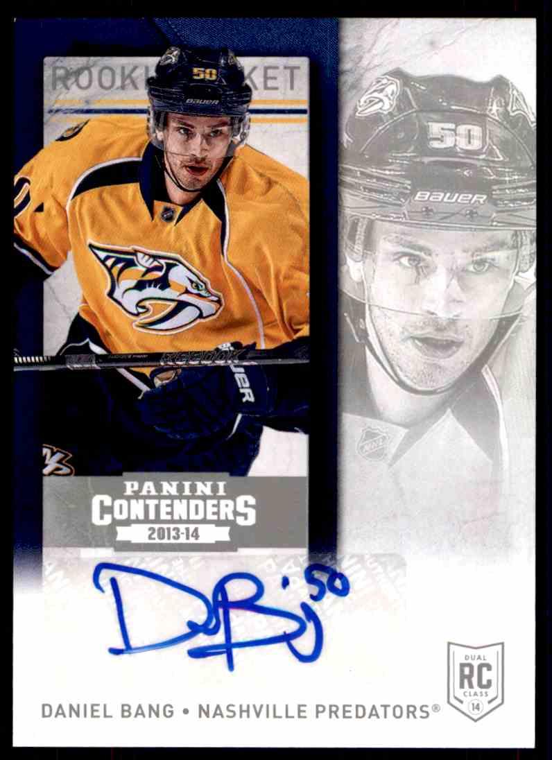 2013-14 Panini Contenders Daniel Bang #280 card front image