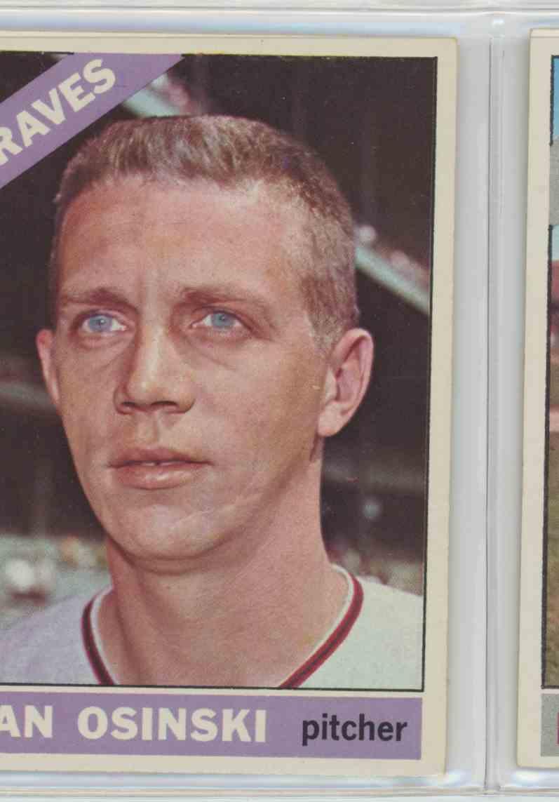 1966 Topps Dan Osinski #168 card front image