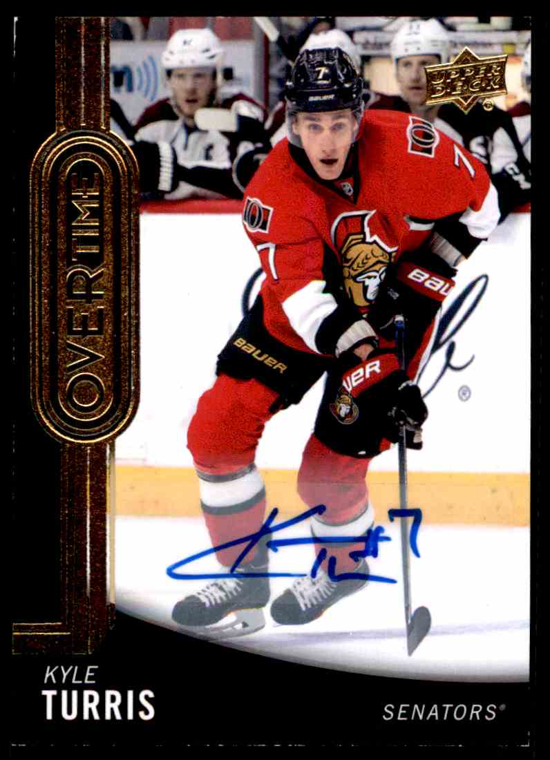 2014-15 Upper Deck Overtime Kyle Turris #151 card front image