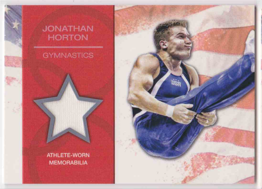 2012 Topps U.S. Olympic Team Relic Jonathan Horton #OR-JH card front image
