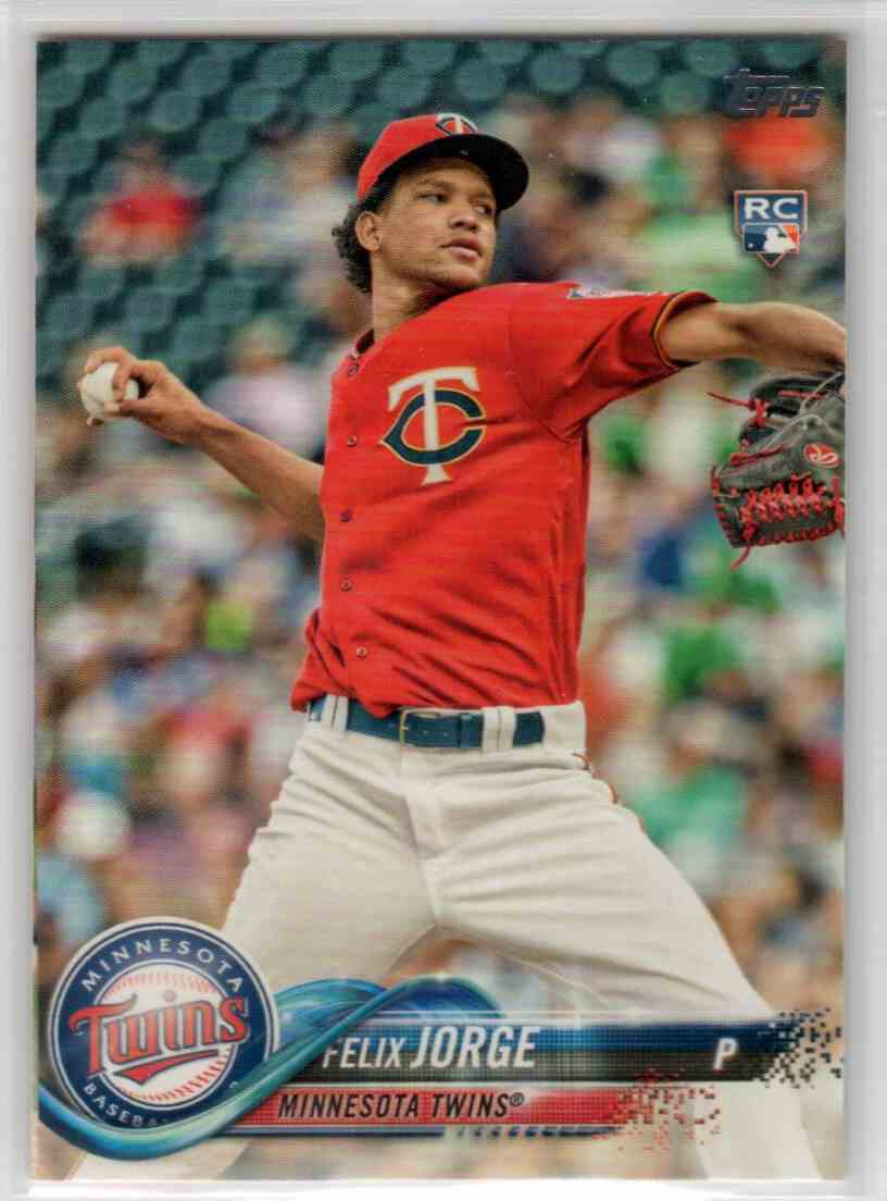 2018 Topps Series 2 Felix Jorge #410 card front image