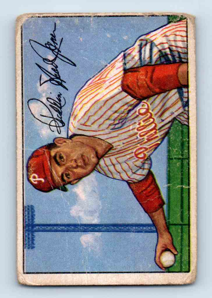 1952 Bowman Willie Jones #20 card front image