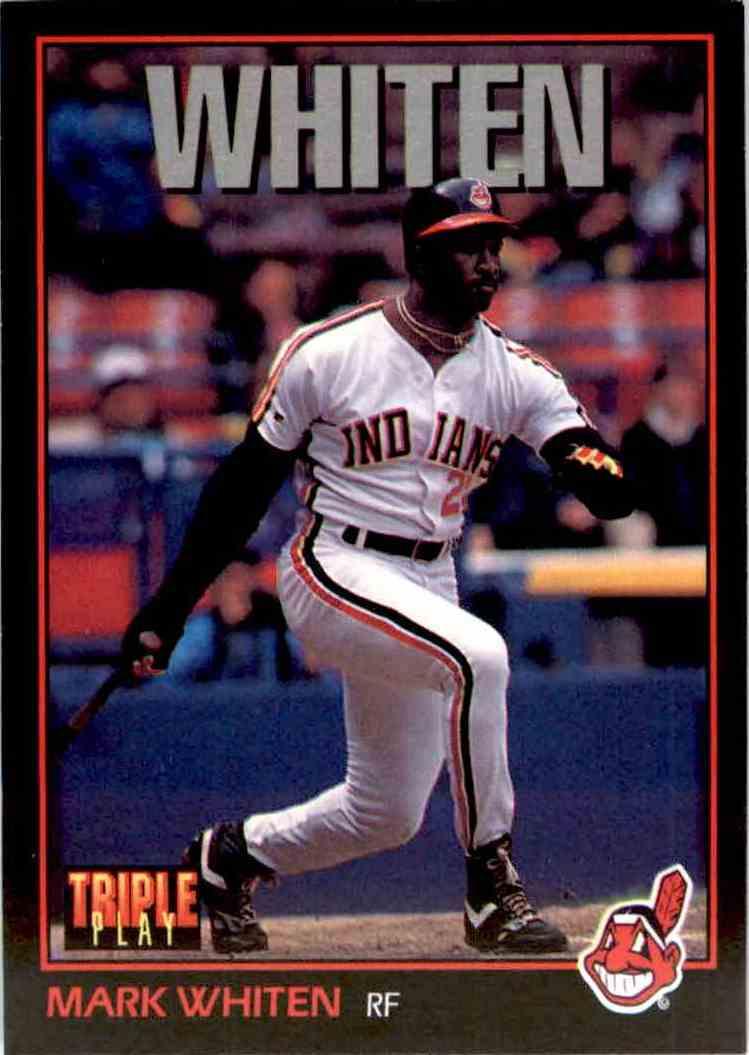 1993 Donruss Triple Play Mark Whiten 23 On Kronozio