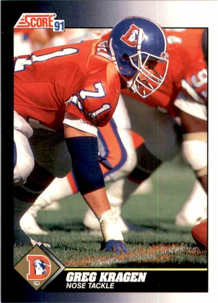 1991 Score Greg Kragen #463 card front image