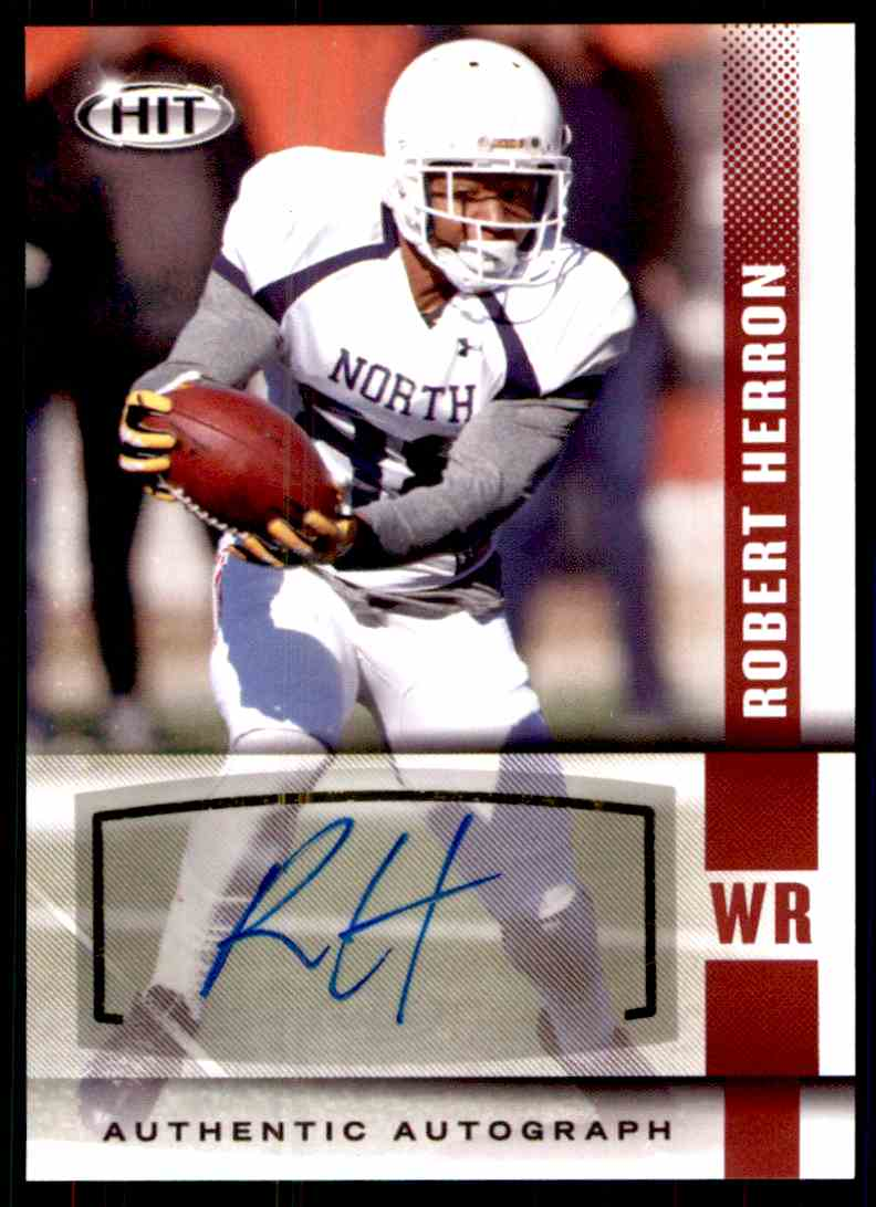 2014 Sage Hit Robert Herron card front image
