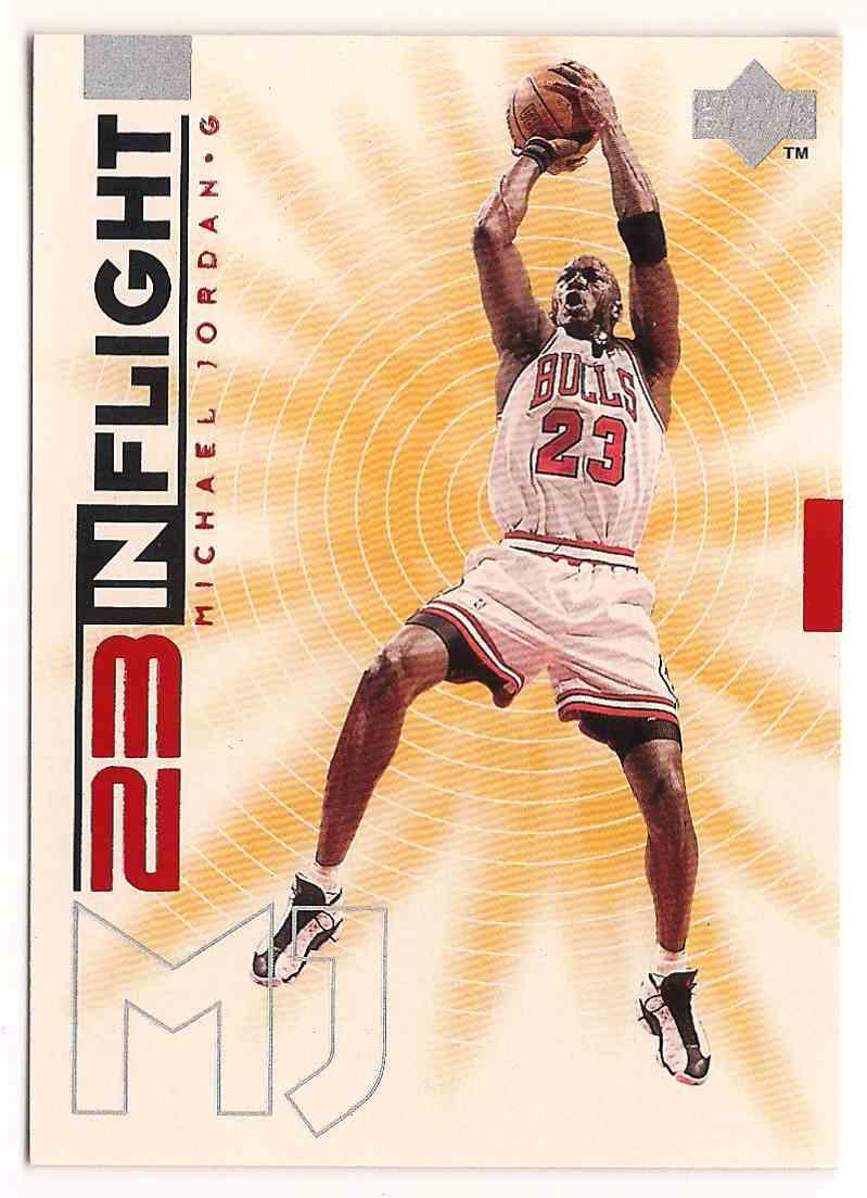 1997-98 Upper Deck 23 In Flight Michael Jordan #IF8 card front image