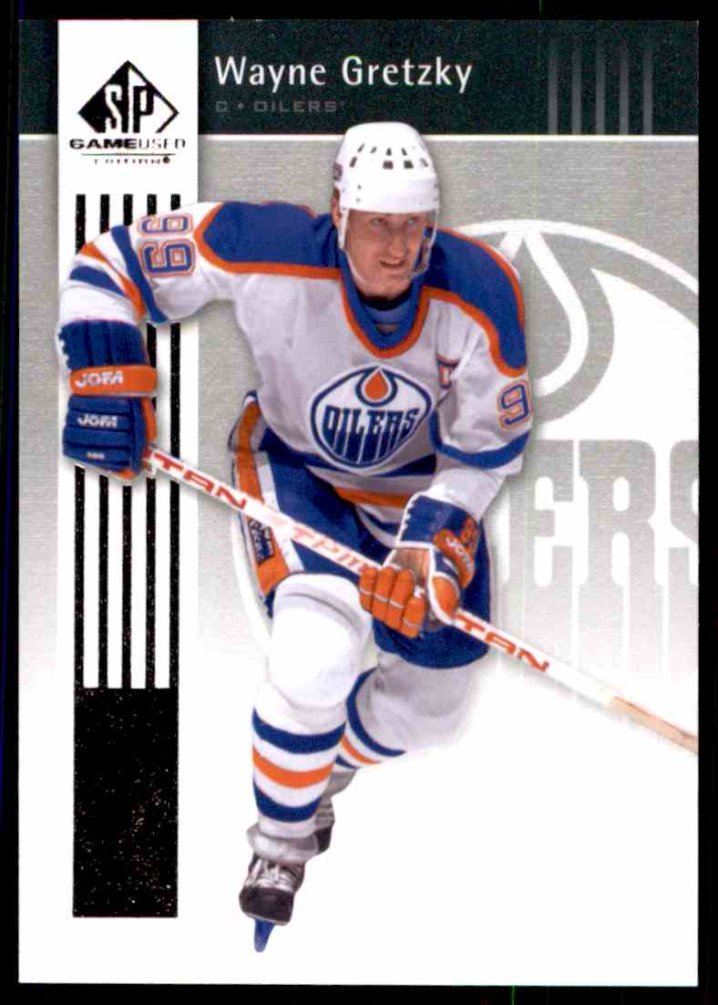 2011-12 SP Game Used Wayne Gretzky #38 card front image