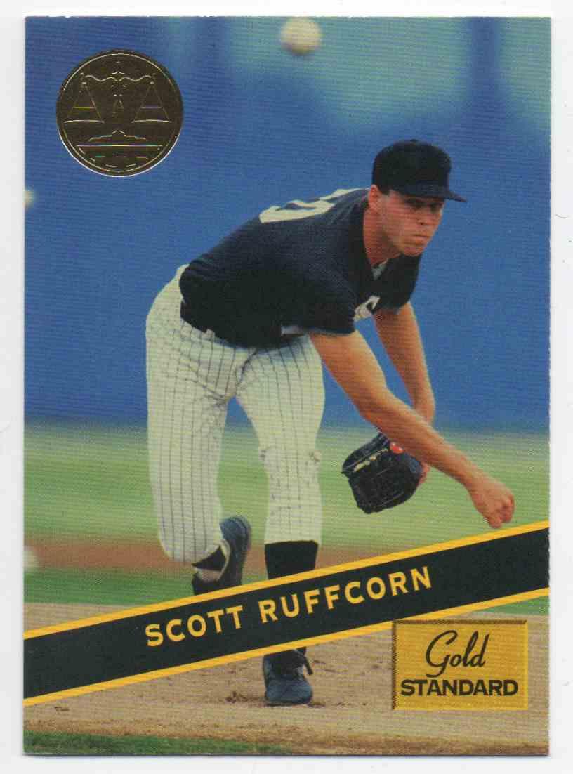 1994 Signature Rookies Gold Standard Scott Ruffcorn #69 card front image