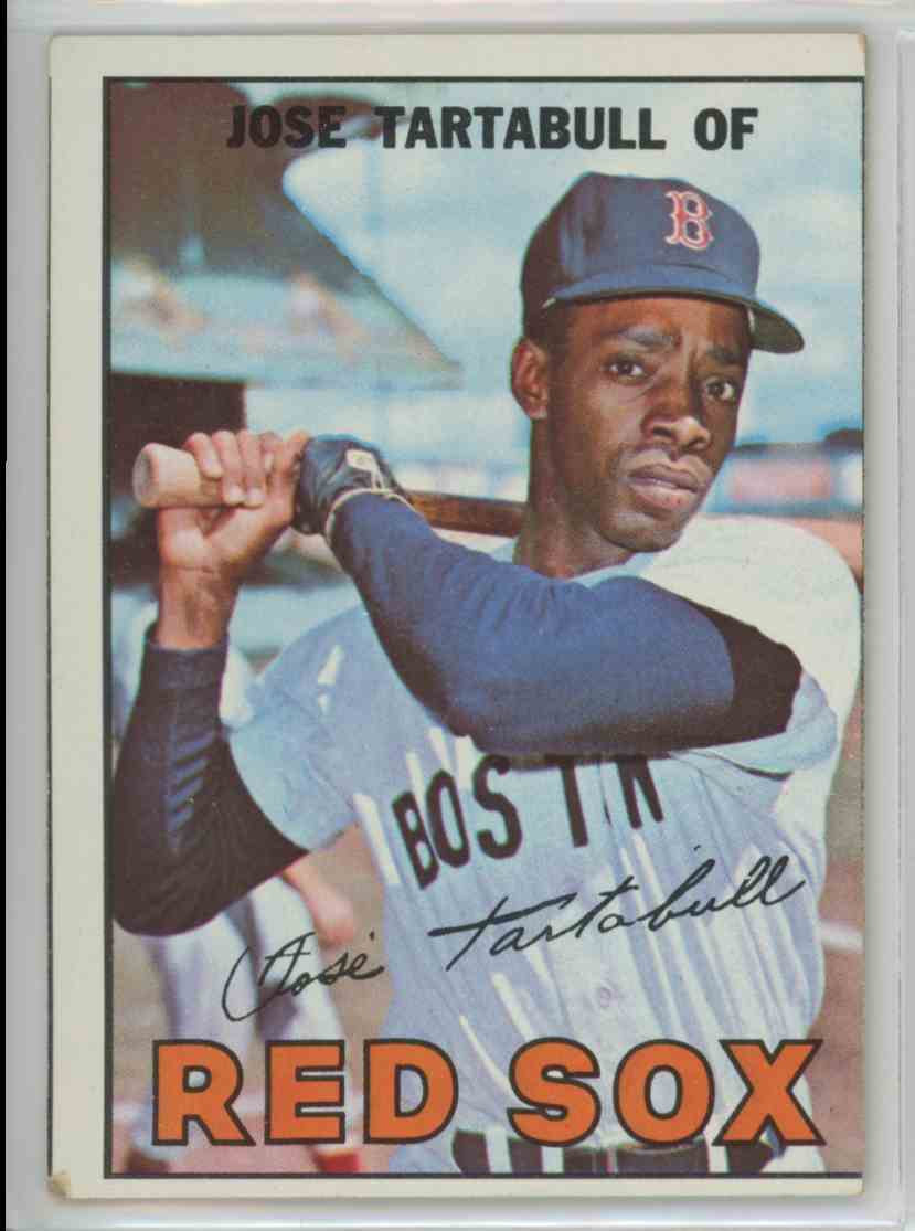 1967 Topps Jose Tartabull #56 card front image