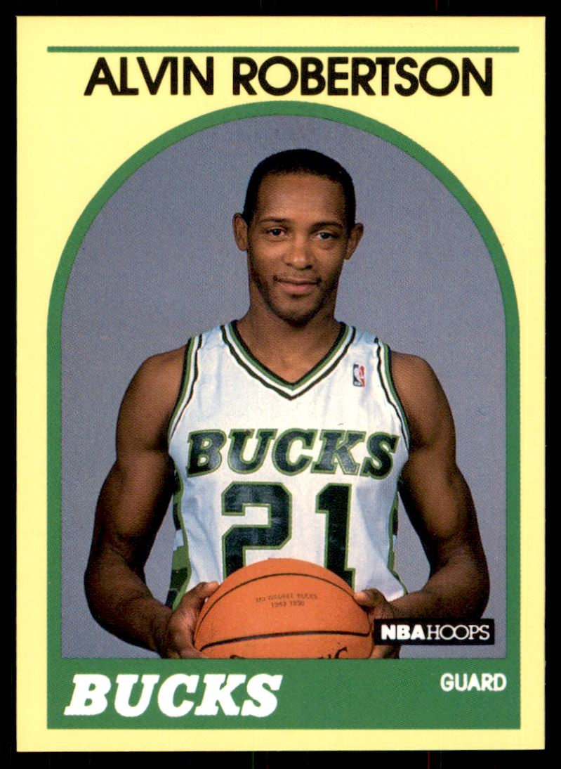 308 Alvin Robertson trading cards for sale
