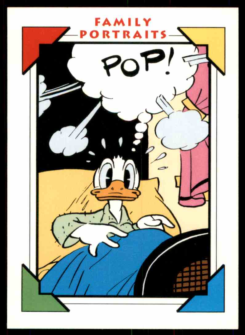 1991 Disney Series One Sunday Comic Strip 1935 - Donald #160 card front image