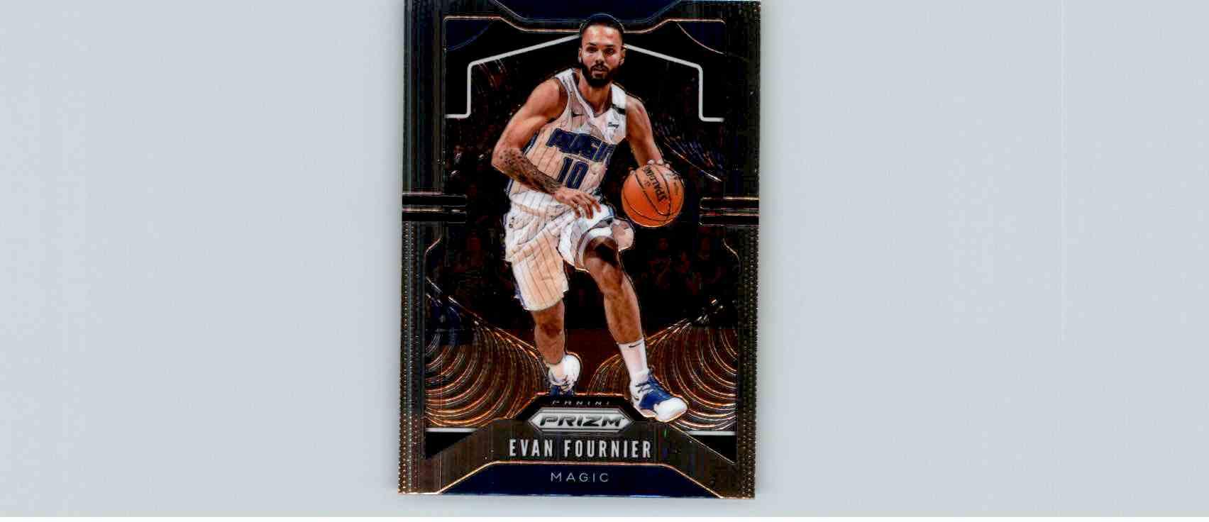 2019-20 Panini Prizm Basketball Prizm Evan Fournier #192 card front image