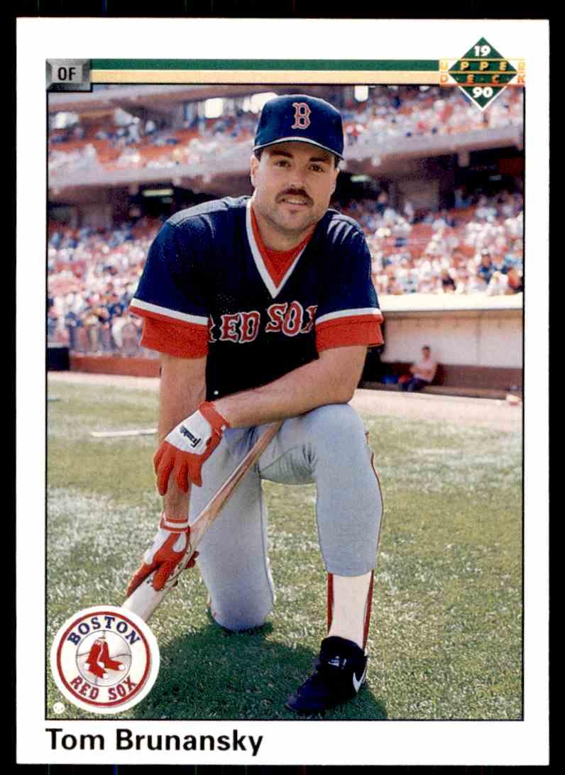 1990 Upper Deck Baseball Tom Brunansky #708 on Kronozio