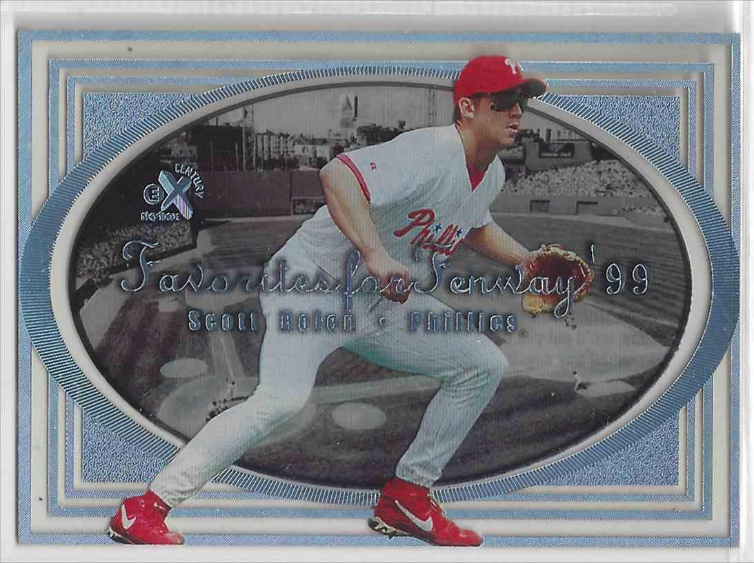 1999 Fleer / Skybox Favorites For Fenway Scott Rolen #FF 19 card front image