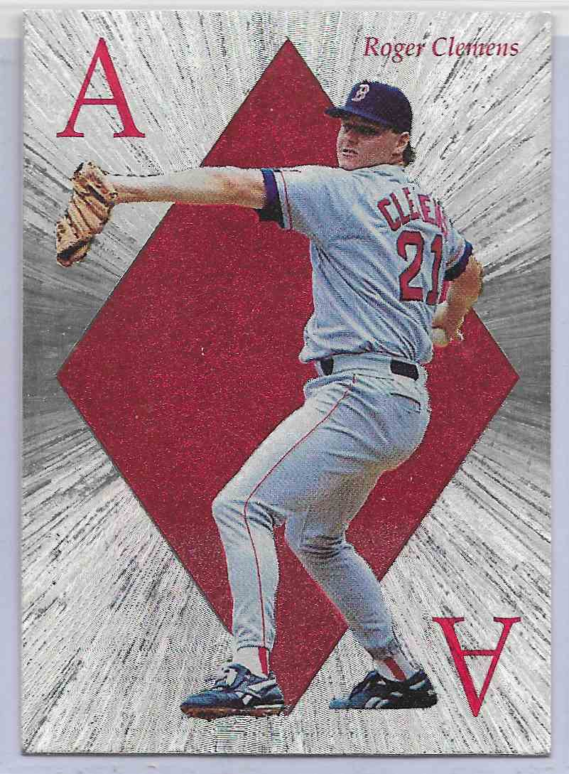 1992 Score Select Select Ace Roger Clements #1 card front image
