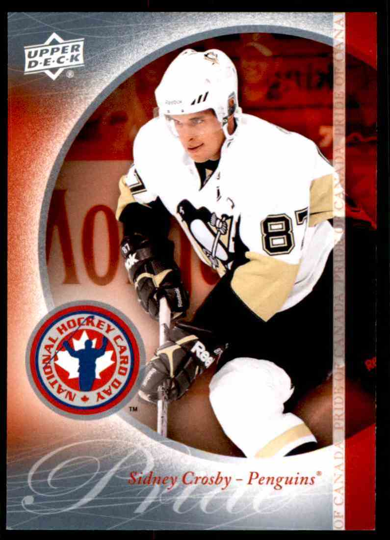 2010-11 Upper Deck National Hockey Card Day Sidney Crosby #HCD10 card front image
