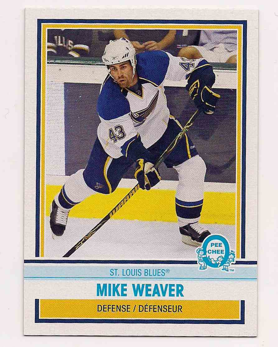 2009-10 0-Pee-Chee Retro Mike Weaver #378 card front image