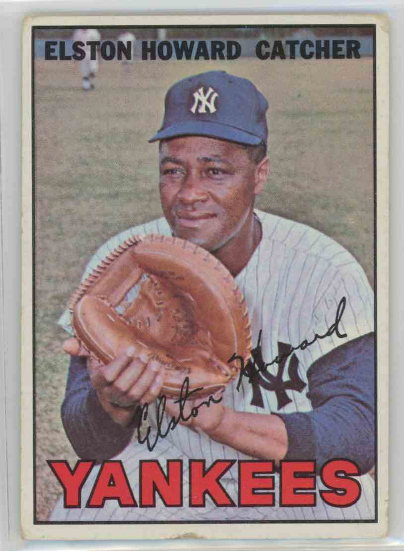 1967 Topps Elston Howard #25 card front image