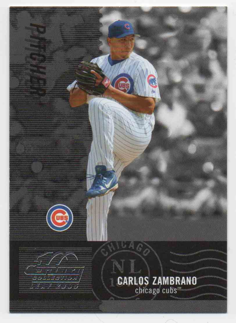 2005 Leaf Century Carlos Zambrano #162 card front image
