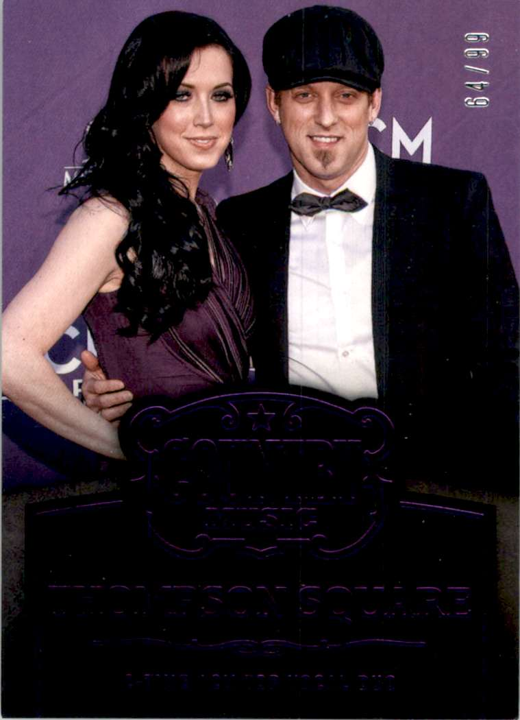 2015 Country Music Purple Thompson Square #3 card front image