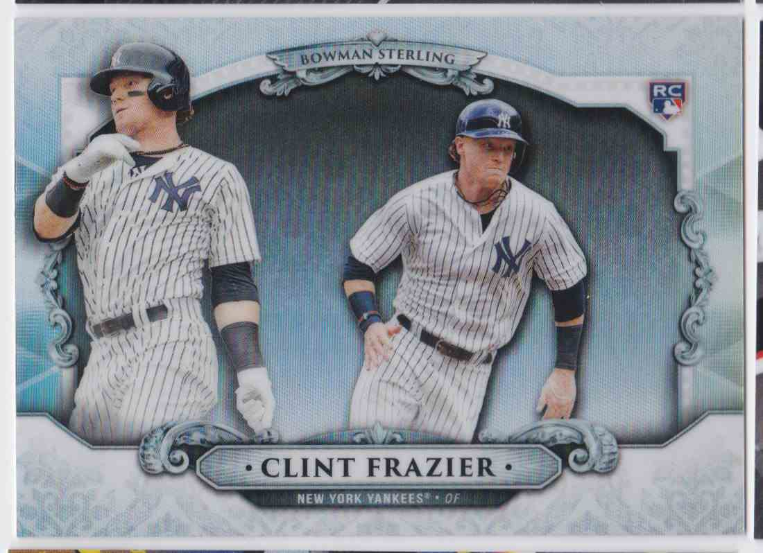 2018 Bowman Sterling Clint Frazier #BS-CF card front image