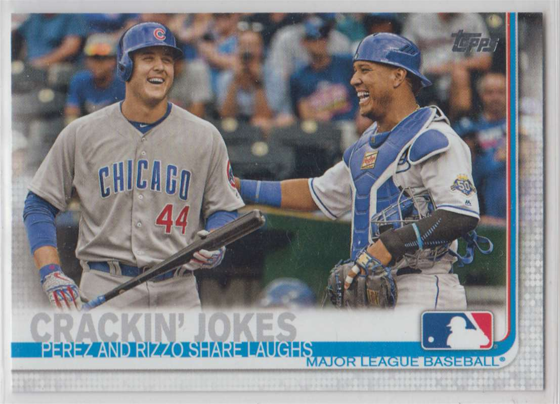 2019 Topps Anthony Rizzo / Salvador Oerez #12 card front image