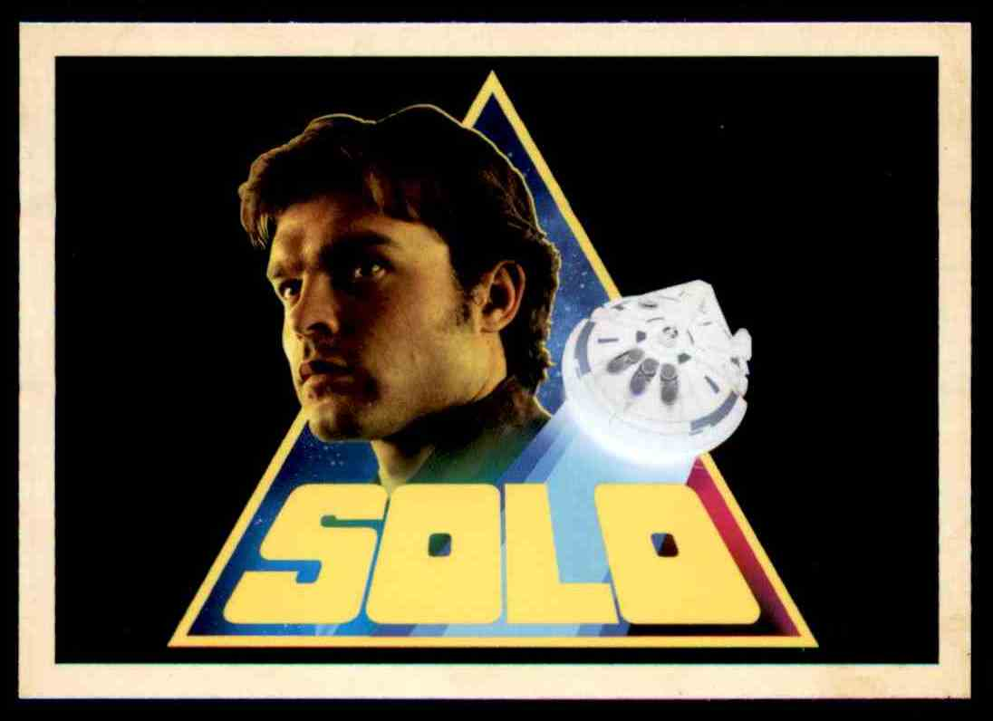 2018 Topps Solo: A Star Wars Story Han Solo #I-1 card front image